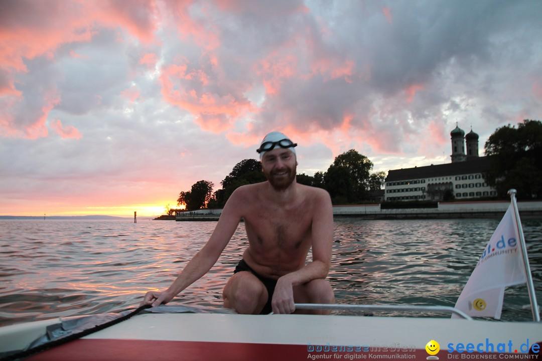 Patrick Hotz – Bodensee-Breitenquerung 2015