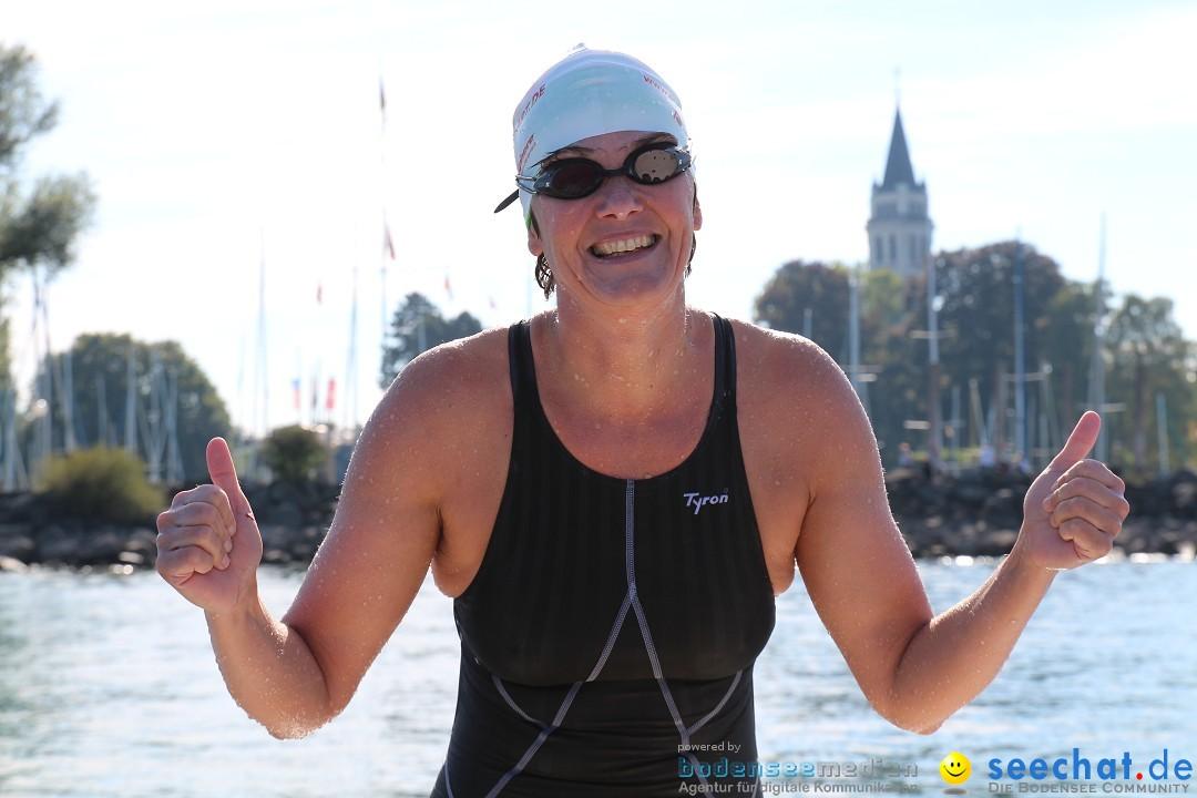 Peggy Hennings – Bodensee-Breitenquerung 2015