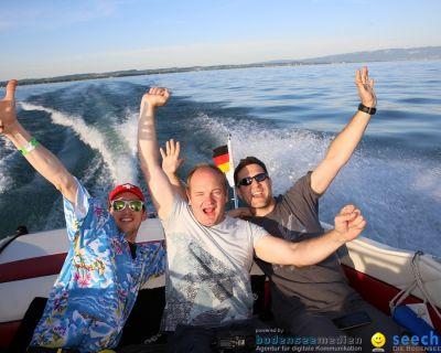 Bootsfahrt mit dem Team von seechat.de – Die Bodensee Community