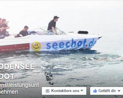 Gewinnspiel für Facebook Fans von BODENSEEBOOT